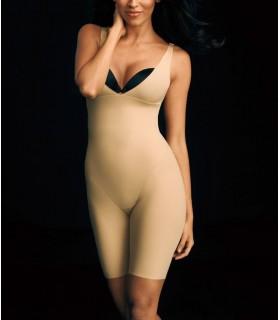 Body Faja Pantalón con tirantes MAIDENFORM 2556