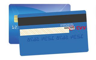 CVV en una tarjeta mastercard o visa